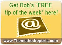 Rob's FREE tip of the week.